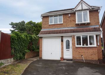 Thumbnail 3 bed detached house for sale in Menai Grove, Longton, Stoke-On-Trent, Staffordshire