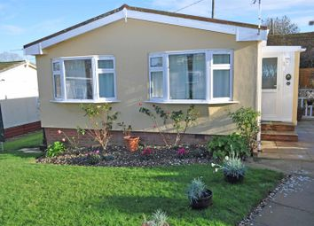 Thumbnail 2 bedroom mobile/park home for sale in Pippin Close, Herstmonceux, Hailsham