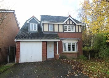 Thumbnail 4 bed detached house for sale in Chatsworth Fold, Springview, Wigan