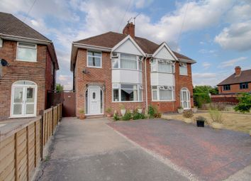 Thumbnail 3 bed semi-detached house for sale in Stanton Road, Stapenhill, Burton-On-Trent