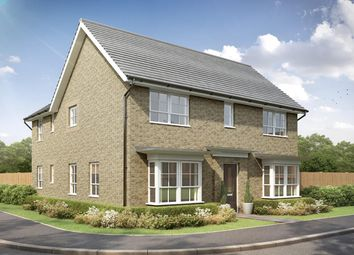 "Thumbnail 4 bedroom detached house for sale in ""Alnmouth"" at Stretton Road, Stretton, Warrington"