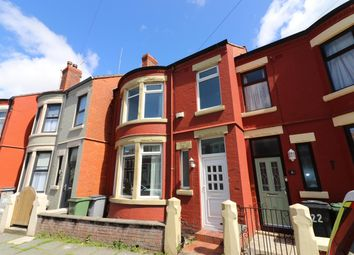 Thumbnail 3 bed terraced house for sale in Hampstead Road, Wallasey