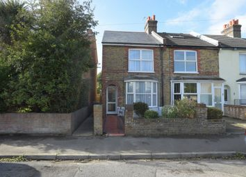 Thumbnail 3 bed end terrace house for sale in Somerset Road, Walmer