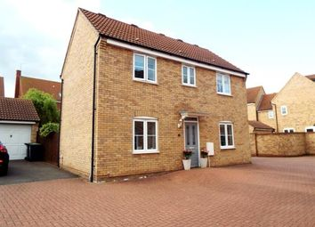 Thumbnail 3 bed detached house for sale in Silverburn Close, Bedford, Bedfordshire