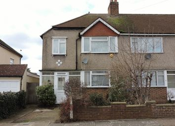 Thumbnail 3 bed semi-detached house to rent in Wilverley Crescent, New Malden