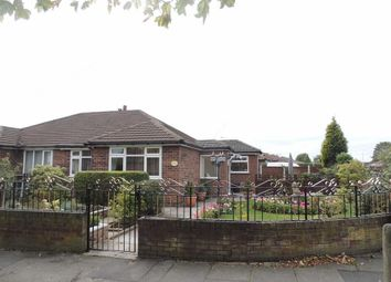 Thumbnail 2 bed semi-detached bungalow for sale in Foxhall Road, Denton, Manchester