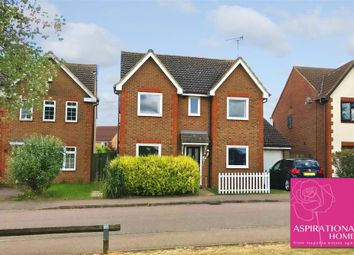 Thumbnail 4 bed detached house for sale in Magnolia Drive, Rushden, Northamptonshire