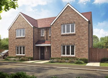 "Thumbnail 3 bed semi-detached house for sale in ""The Hatfield "" at Thame Park Road, Thame"