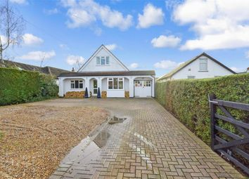 Thumbnail 3 bed bungalow for sale in Maydowns Road, Chestfield, Whitstable, Kent