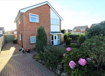 Thumbnail 3 bed detached house for sale in Ffordd Mon, Wrexham