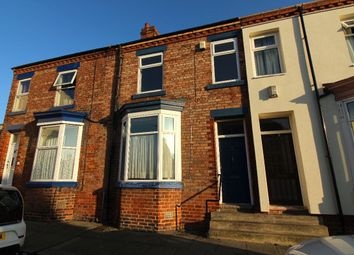 Thumbnail 3 bed terraced house for sale in Chatsworth Terrace, Darlington
