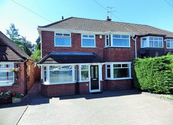 Thumbnail 4 bed semi-detached house for sale in Dunstall Road, Hayley Green, Halesowen