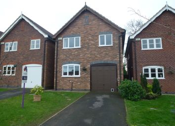 Thumbnail 3 bedroom detached house to rent in Radford Meadow, Castle Donington, Derby