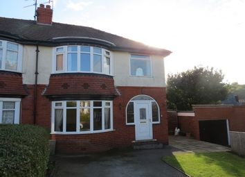 Thumbnail 3 bedroom semi-detached house to rent in Mount Park Avenue, Scarborough