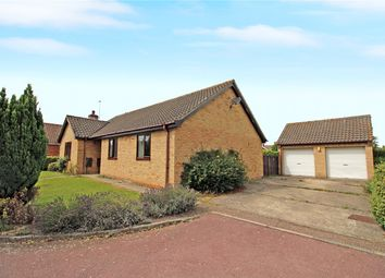 Thumbnail 3 bed detached bungalow for sale in The Meadows, Thurton, Norwich, Norfolk