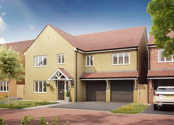 "Thumbnail 5 bed detached house for sale in ""The Compton "" at Bellona Drive, Peterborough"