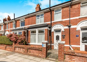 Thumbnail 3 bed terraced house for sale in Winton Road, Portsmouth