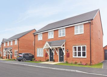 "Thumbnail 3 bedroom semi-detached house for sale in ""The Studland"" at Stocks Lane, Winslow, Buckingham"