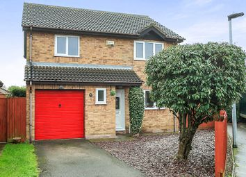 Thumbnail 4 bed detached house for sale in Patterdale Drive, Peterborough