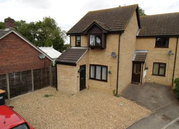 Thumbnail 3 bed end terrace house for sale in Norman Close, Great Barford