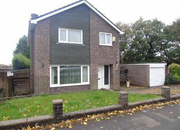 Thumbnail 4 bed detached house for sale in Rhodfa Eos, Parc Gwernfadog, Swansea