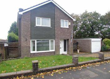 Thumbnail 4 bedroom detached house for sale in Rhodfa Eos, Parc Gwernfadog, Swansea