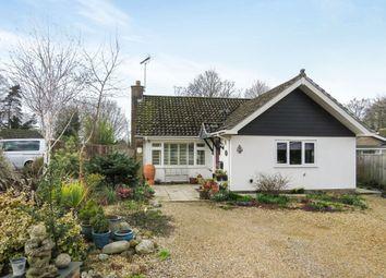 Thumbnail 3 bed detached bungalow for sale in Hazel Close, Mildenhall, Bury St. Edmunds