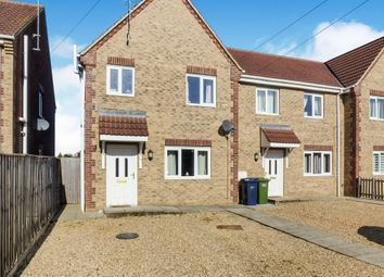 Thumbnail 3 bedroom end terrace house for sale in Beechings Close, Wisbech St. Mary, Wisbech