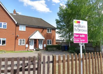 Thumbnail 3 bedroom end terrace house for sale in Laburnum Close, Red Lodge, Bury St. Edmunds