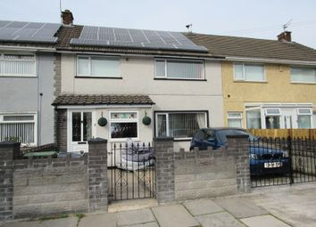 Thumbnail 3 bed terraced house for sale in Llandovery Close, Ely, Cardiff