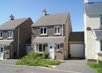 Thumbnail 3 bed detached house to rent in Hawkins Walk, Okehampton