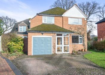 Thumbnail 4 bed detached house for sale in Rockingham Close, Dorridge, Solihull
