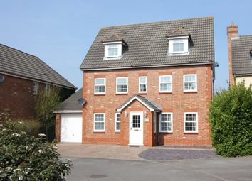 Thumbnail 5 bed detached house for sale in Upmill Close, West End, Southampton