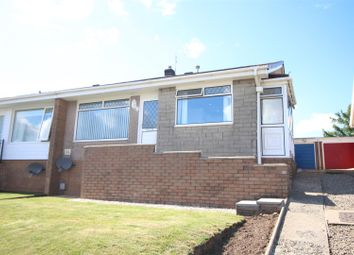Thumbnail 2 bed semi-detached bungalow for sale in Mount Road, Risca, Newport