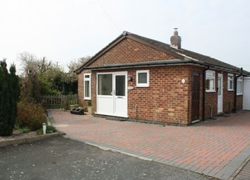 Thumbnail 3 bed detached bungalow to rent in Western Drive, Claybrooke Parva