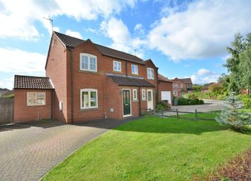 Thumbnail 3 bed semi-detached house for sale in Ashfield Grange, Saxilby, Lincoln