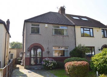 Thumbnail 3 bed semi-detached house for sale in Coombe Road, Romford