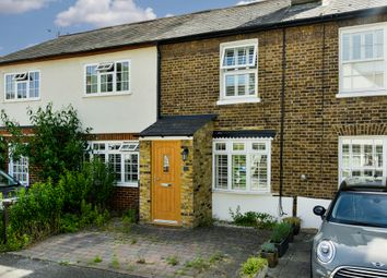 Thumbnail 2 bed terraced house to rent in Rushett Close, Thames Ditton