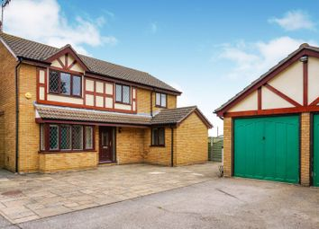 Thumbnail 4 bed detached house for sale in Wyatt Close, Elmswell