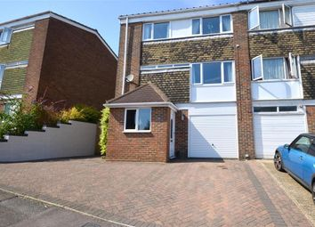 Thumbnail 3 bed end terrace house for sale in Oxenden Road, Folkestone, Kent