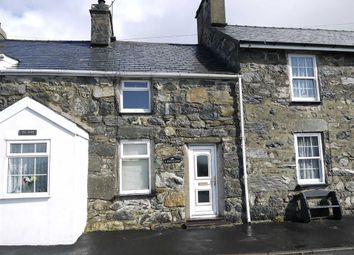 Thumbnail 2 bed terraced house for sale in Garndolbenmaen