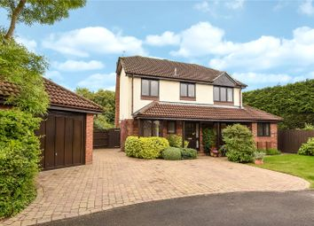 Thumbnail 4 bed detached house for sale in The Willows, Lightwater, Surrey
