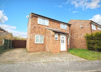Thumbnail 3 bed detached house for sale in Lionel Hurst Close, Great Cornard, Sudbury
