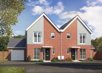 Thumbnail 3 bed semi-detached house for sale in Sunflower Lane, Polegate
