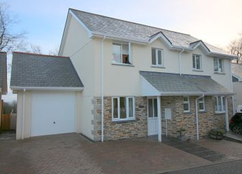 Thumbnail 3 bedroom semi-detached house for sale in The Beeches, St. Anns Chapel, Gunnislake