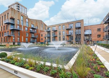 Thumbnail 2 bed flat for sale in Marine Wharf, London