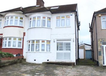 Thumbnail 4 bed semi-detached house for sale in Stradbroke Grove, Clayhall, Ilford
