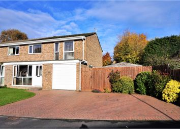 Thumbnail 4 bed semi-detached house for sale in Valley Way, Pamber Heath