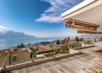 Thumbnail 4 bed apartment for sale in Montreux, Switzerland