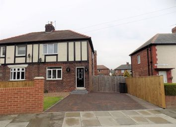 Thumbnail 3 bed semi-detached house to rent in Haggerston Terrace, Jarrow